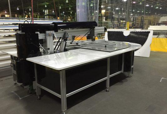 Model 10000 Radius Table