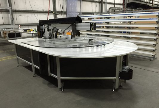 Model 8000 Radius Table