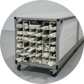 Form Storage Rack